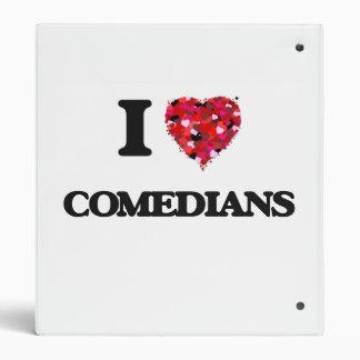 I love Comedians 3 Ring Binders
