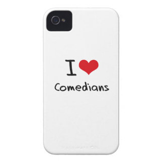 I love Comedians iPhone 4 Cases