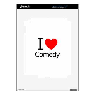 I Love Comedy iPad 2 Skin