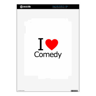 I Love Comedy Skins For The iPad 2