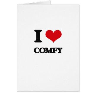 I love Comfy Cards