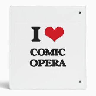 I Love COMIC OPERA Binder