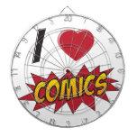 I love comics! dart board