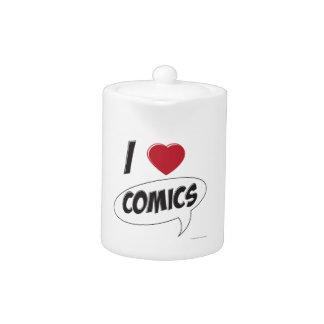 I Love Comics! *Heart*