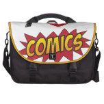 I love comics! laptop commuter bag