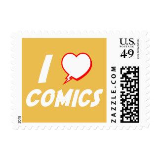 I Love Comics Postage