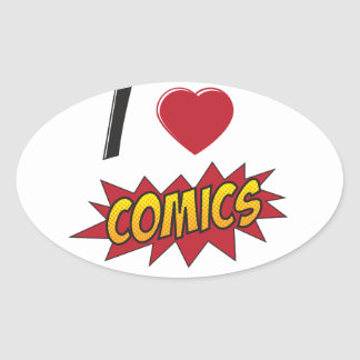 I love comics! stickers
