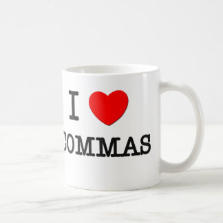 I Love Commas Coffee Mug