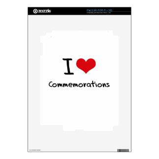 I love Commemorations iPad 2 Skins