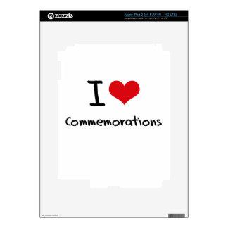 I love Commemorations Skin For iPad 3