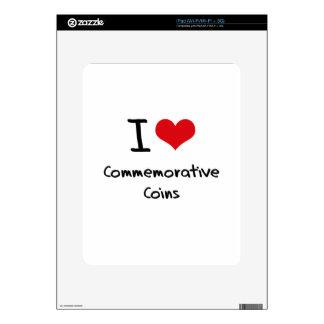 I love Commemorative Coins iPad Decal