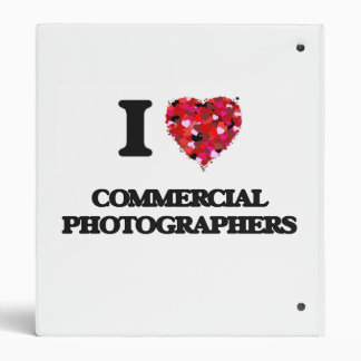 I love Commercial Photographers 3 Ring Binder