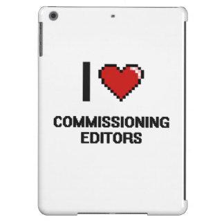 I love Commissioning Editors iPad Air Covers