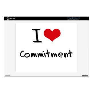 """I love Commitment Decals For 14"""" Laptops"""