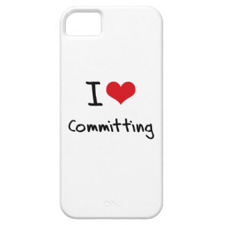 I love Committing iPhone 5 Covers