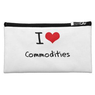 I love Commodities Cosmetics Bags