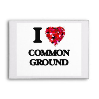 I love Common Ground Envelopes