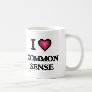 I love Common Sense Coffee Mug