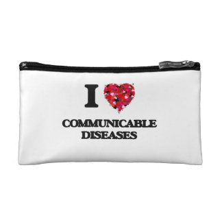 I love Communicable Diseases Makeup Bags