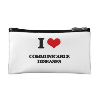 I love Communicable Diseases Makeup Bag