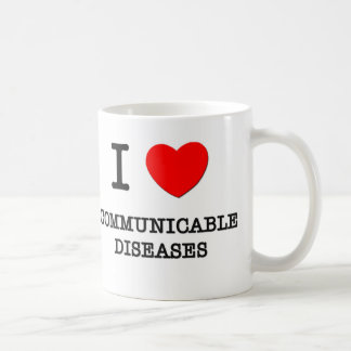 I Love Communicable Diseases Coffee Mug