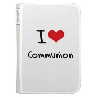 I love Communion Kindle Cases