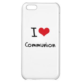 I love Communion Case For iPhone 5C