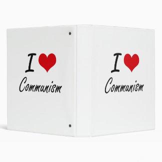 I love Communism Artistic Design Vinyl Binders