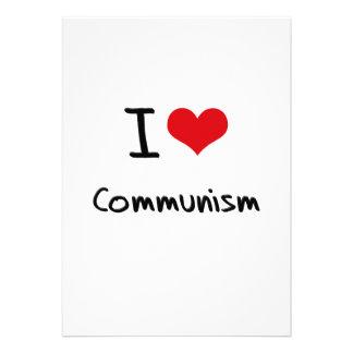 I love Communism Personalized Invitation