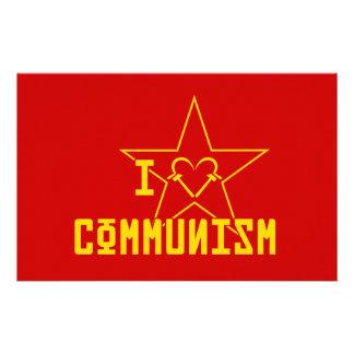 I Love Communism Stationery