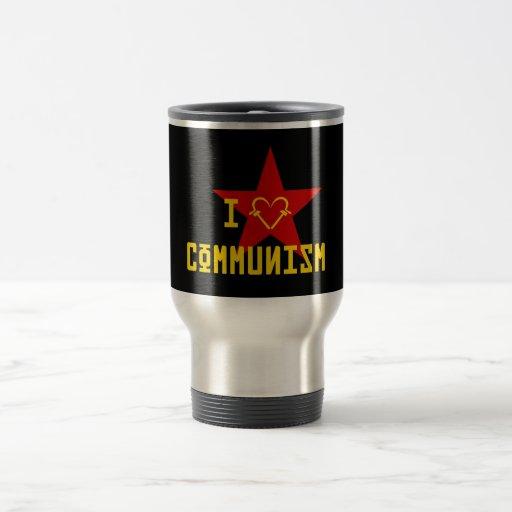 I Love Communism Taza De Viaje