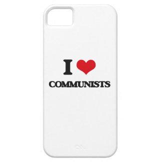 I love Communists iPhone 5 Cases