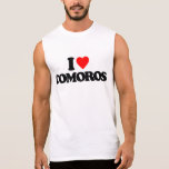 I LOVE COMOROS SLEEVELESS TEES