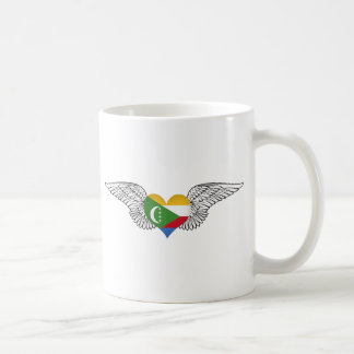 I Love Comoros -wings Coffee Mugs