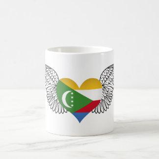I Love Comoros -wings Mug