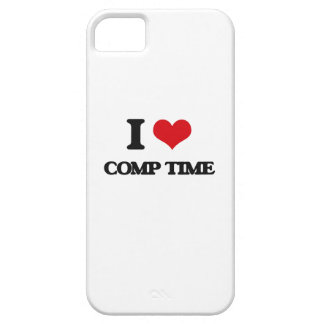 I love Comp Time iPhone 5 Cover