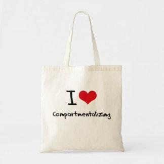 I love Compartmentalizing Budget Tote Bag
