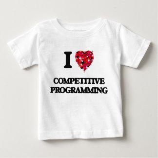 I Love Competitive Programming Tshirt