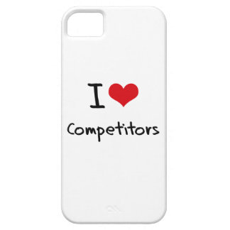 I love Competitors iPhone 5 Cover