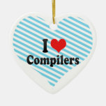 I Love Compilers Ornament
