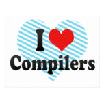 I Love Compilers Postcard