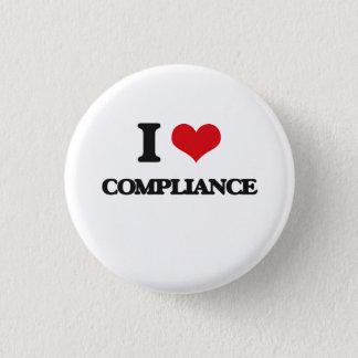 I Love Compliance Button