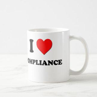 I Love Compliance Coffee Mug