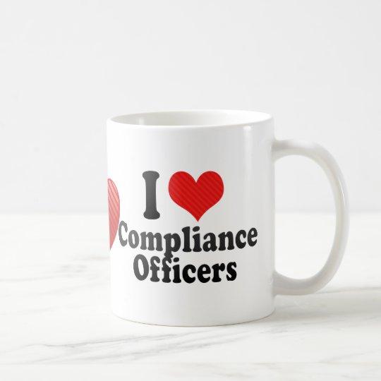 I Love Compliance Officers Coffee Mug
