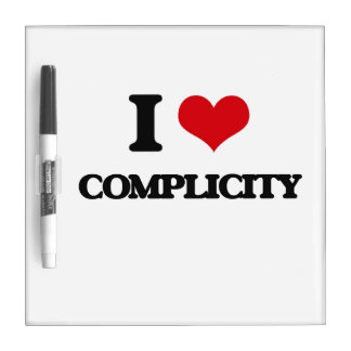 I love Complicity Dry Erase Board