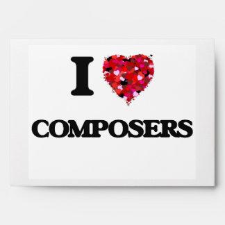 I love Composers Envelope