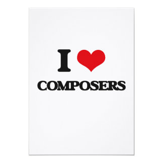 I love Composers Card