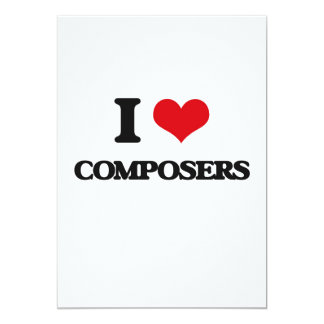 I love Composers Cards