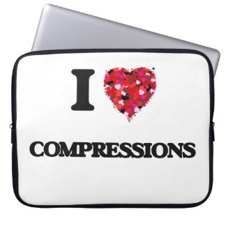 I love Compressions Laptop Computer Sleeves
