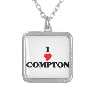 I love Compton Square Pendant Necklace